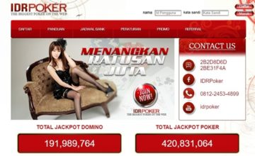 Idrpoker Agen Poker Online Deposit Pulsa Terpercaya