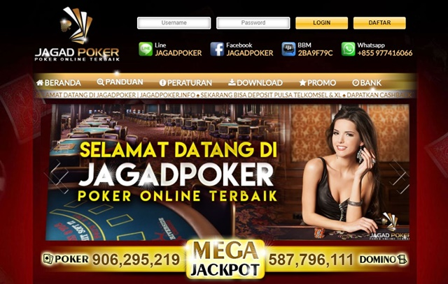 Jagadpoker Agen Poker Pkv Games Domino QQ Online Terpercaya