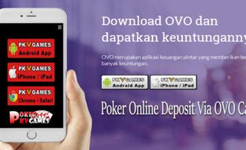 Situs Poker Online Deposit Via OVO Cash Terpercaya